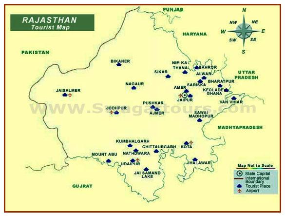 rajasthan_road_map